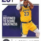 2018 Chronicles Basketball Card #68 LeBron James