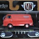 M2 Machines Wal Mart #TS10-17-76 1965 Mercury Econoline Delivery Van