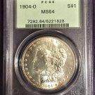 PCGS 1904-O Morgan Dollar MS64   #D0001