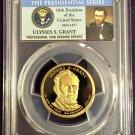 PCGS 2011-S Ulysses S Grant Dollar PR69DCAM  #D0002