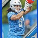 2019 Donruss Football Card Blue Press Proof #270 Jahlani Tavai
