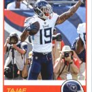 2019 Score Football Card #78 Tajae Sharpe