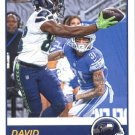 2019 Score Football Card #322 David Moore