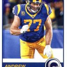 2019 Score Football Card #327 Andrew Whitworth