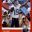 2019 Score Football Card Red #78 Tajae Sharpe