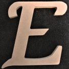 "6"" Tall - Fancy 1 - 1/2""Thick MDF Letter ""E"" Cut Out Made in the USA"