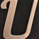 "6"" Tall - Fancy 1 - 1/2""Thick MDF Letter ""U"" Cut Out Made in the USA"