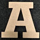 "6"" Tall - Rockwell - 1/2""Thick MDF Letter ""A"" Cut Out Made in the USA"
