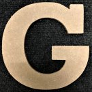 "6"" Tall - Rockwell - 1/2""Thick MDF Letter ""G"" Cut Out Made in the USA"