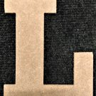 "6"" Tall - Rockwell - 1/2""Thick MDF Letter ""L"" Cut Out Made in the USA"