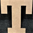 "6"" Tall - Rockwell - 1/2""Thick MDF Letter ""T"" Cut Out Made in the USA"