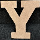"6"" Tall - Rockwell - 1/2""Thick MDF Letter ""Y"" Cut Out Made in the USA"