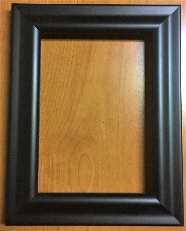 "10 x 10 1-1/4"" Matt Black Picture Frame F052"