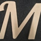 "10"" Tall - Fancy 1 - 1/2""Thick MDF Letter ""M"" Cut Out Made in the USA"
