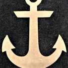 "6"" x 4.4"" - Anchor - 1/4""Thick MDF Cut Out Made in the USA"