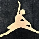 "12"" x 12"" - Ballerina Style 5 - 1/4""Thick MDF Cut Out Made in the USA"
