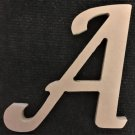 """8"""" Tall - Fancy 1 - 1/2""""Thick MDF Letter """"A"""" Cut Out Made in the USA"""