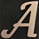"12"" Tall - Fancy 1 - 1/2""Thick MDF Letter ""A"" Cut Out Made in the USA"
