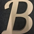 """12"""" Tall - Fancy 1 - 1/2""""Thick MDF Letter """"B"""" Cut Out Made in the USA"""