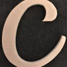 "12"" Tall - Fancy 1 - 1/2""Thick MDF Letter ""C"" Cut Out Made in the USA"