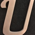 """12"""" Tall - Fancy 1 - 1/2""""Thick MDF Letter """"U"""" Cut Out Made in the USA"""