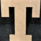 "10"" Tall - Rockwell - 1/2""Thick MDF Letter ""T"" Cut Out Made in the USA"
