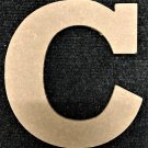 "12"" Tall - Rockwell - 1/2""Thick MDF Letter ""C"" Cut Out Made in the USA"