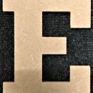 "12"" Tall - Rockwell - 1/2""Thick MDF Letter ""E"" Cut Out Made in the USA"