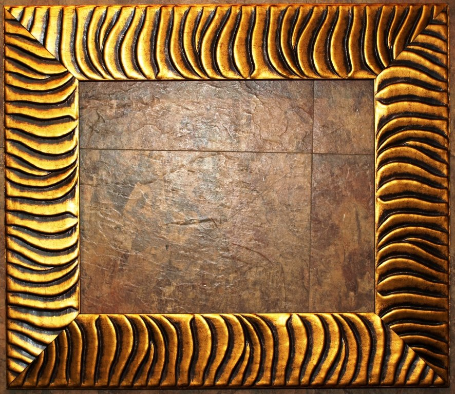 "10 x 13 2-1/2"" Tiger Stripe Picture Frame"