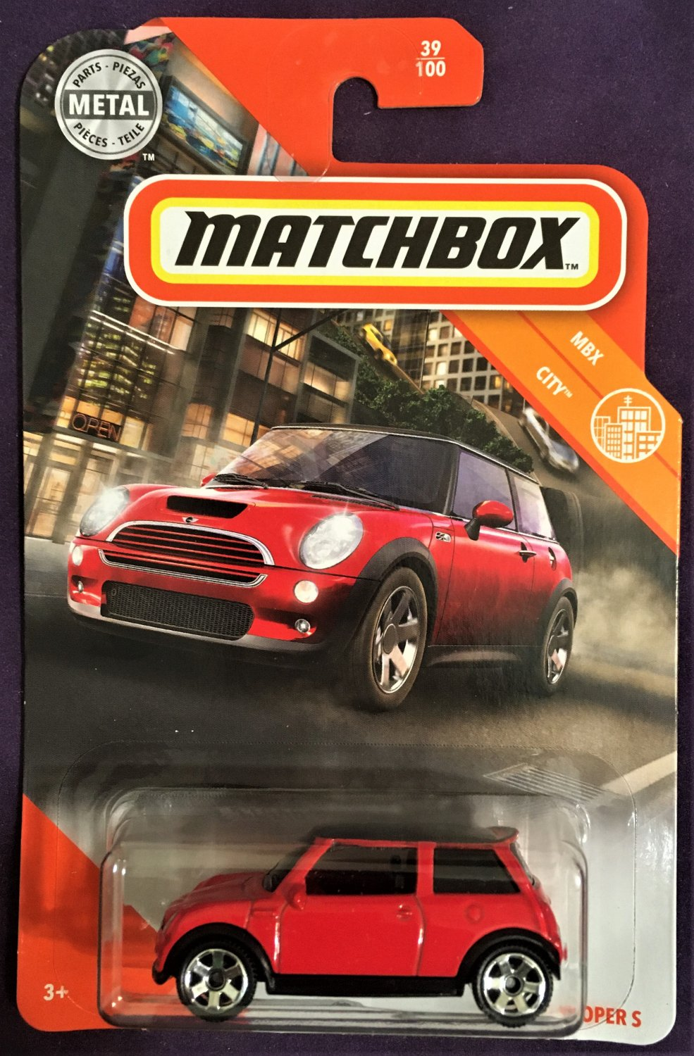 2020 Matchbox #39 03 Mini Cooper S