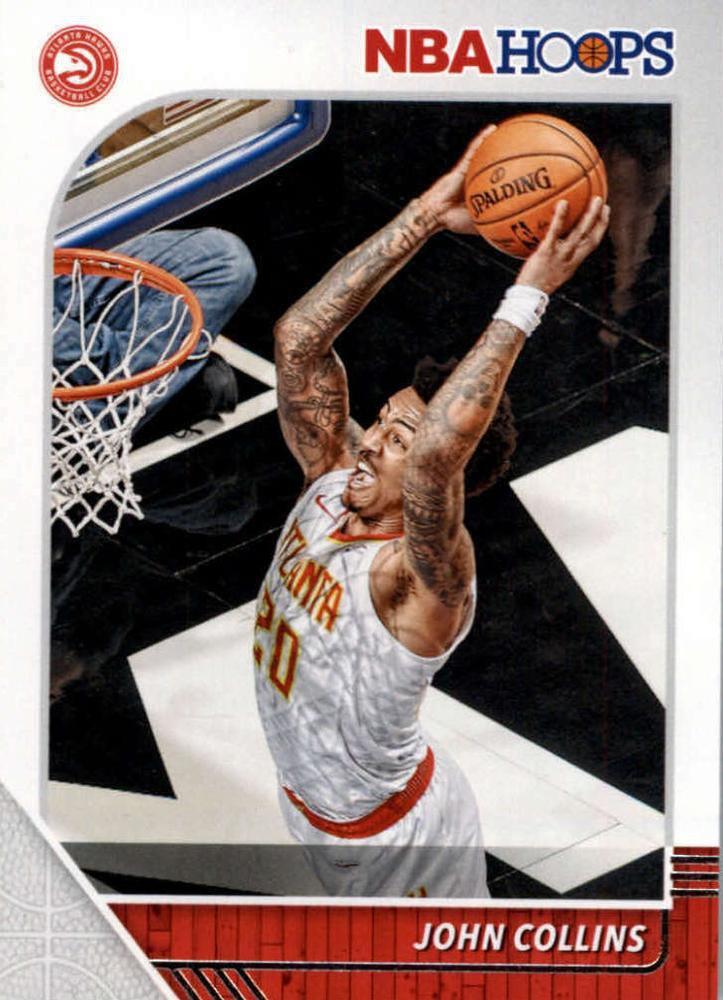 2019 Hoops Basketball Card #2 Jphn Collins