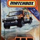 2020 Matchbox #89 Hummer H2 SUV Concept