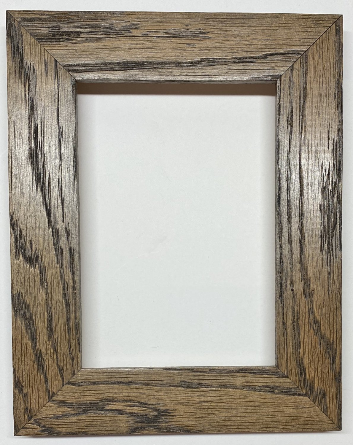 """F054 8 x 10 1-1/2"""" Ebony Stained Oak Picture Frame"""