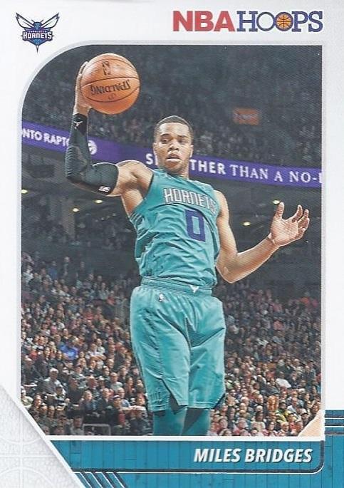2019 Hoops Basketball Card #20 Miles Bridges