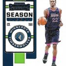 2019 Contenders Basketball Card #6 Andrew Wiggins