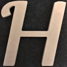 "6"" Tall - Fancy 1 - 1/4""Thick MDF Letter ""H"" Cut Out Made in the USA"