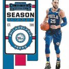 2019 Contenders Basketball Card #9 Ben Simmons