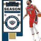 2019 Contenders Basketball Card #38 Jahlil Okafor