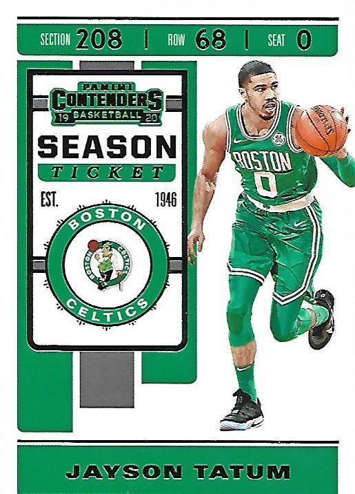2019 Contenders Basketball Card #43 Jayson Tatum