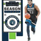 2019 Contenders Basketball Card #54 Karl Anthony Towns