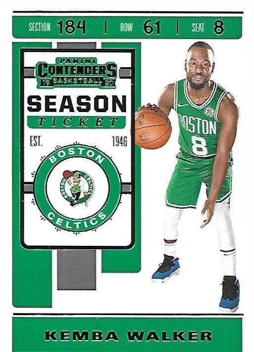 2019 Contenders Basketball Card #56 Kemba Walker