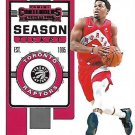 2019 Contenders Basketball Card #66 Kyle Lowry