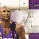 2009 Studio Basketball Card #4 Lamar Odom