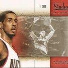 2009 Studio Basketball Card #9 LaMarcus Aldridge