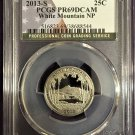 PCGS 2013-S White Mountain Quarter PR69DCAM   #Q0025