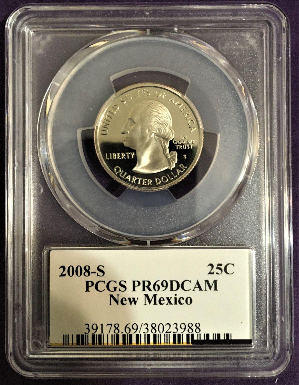 PCGS 2008-S Hawaii Quarter PR69DCAM   #Q0030