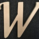 "6"" Tall - Fancy 1 - 1/4""Thick MDF Letter ""W"" Cut Out Made in the USA"