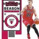 2019 Contenders Basketball Card #69 Lauri Markkanen