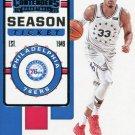 2019 Contenders Basketball Card #97 Tobias Harris