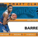 2019 Contenders Basketball Card Draft Class of 2019 #3 R J Barrett